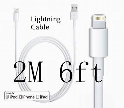 Original OEM 2M,6ft For Apple iPhone7 6/6S 5 SE Lightning USB data Cable Charger