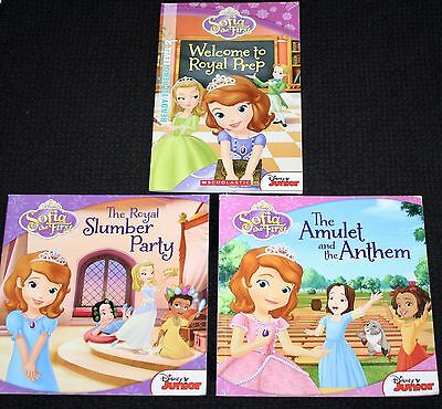 Disney Jnr Princess Sofia x 3 Reading Books