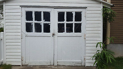 Vintage Antique Carriage House Garage Doors
