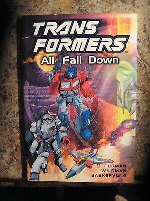 TRANS-FORMERS all fall down 2001  99 cent auction going on now