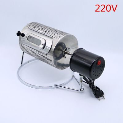 220V Stainless Steel Coffee Bean Baking Machine Home Mini Coffee Bean Roasters