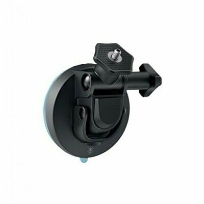 """360fly - Quick Twist Suction Cup Mount 1/4""""-20 - 360 Action Camera - Black"""