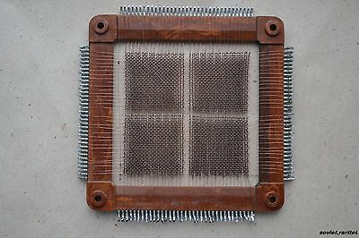 USSR Soviet Russian Magnetic Ferrite Core Memory plate 4096b Saratov2 PDP8 clone