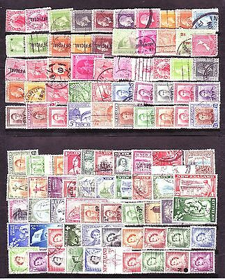 Oceania Related Countries Collection: (358) All Or Nearly All Different Stamps!