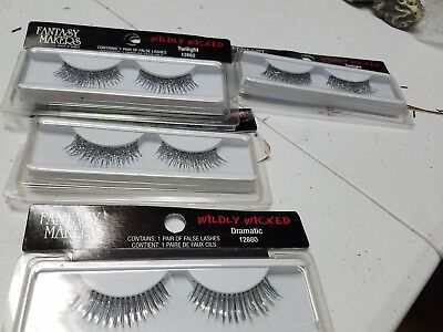 New 10 lot WET AND WILD wetnwild 12882 twilight 12880 dramatic fake eye lashes