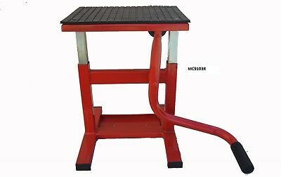 Motorcycle Lift Stand, Motox Dirt Bike Lift Stand, Pit Stand, New   (Mc9103R)