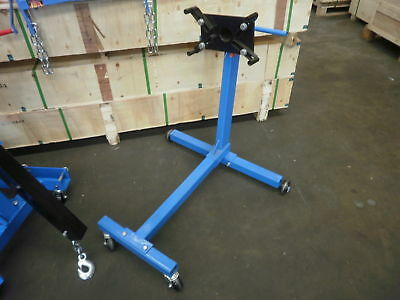 Engine stand 450 kg, rotating head, automotive   (D5602R)