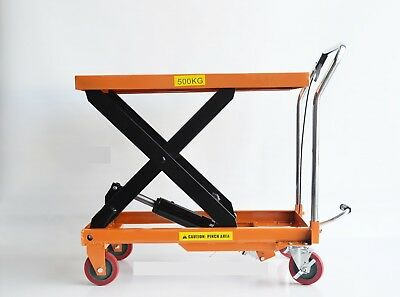 Hydraulic lifting table, cart, jack table, warehouse  (PHY500)