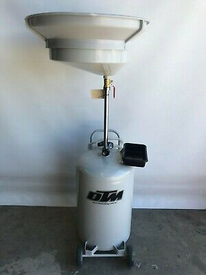 Oil Collection 80 Ltr oil drainer, solid steel air to empty @ DTM Trading (K80)