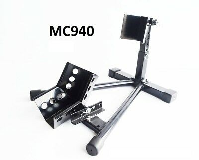 Motorcycle adjustable parking wheel stand  Wheel chock motorbike stand (MC940)
