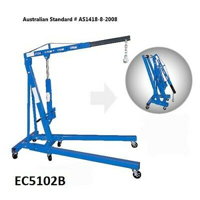 Engine Crane, Hoist, Engine Lifter 2 Ton Rated  Folding Legs (E5102B)