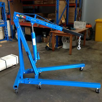 Engine Crane, Hoist, Engine Lifter, 2 Ton Rated  Folding Legs (E5102C)