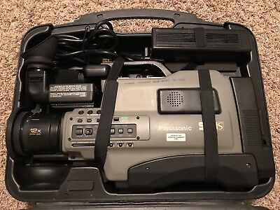 Panasonic AG-456UP Pro Line Super VHS Camera SVHS - As Is - For Parts Only