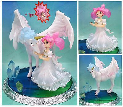 Sailor Moon Small Lady Chibiusa & Helios PVC figure figuarts Zero 6in. nobox New