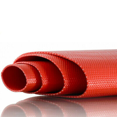 PVC Heavy Duty Red Layflat Hose 1.5 inch (40mm) - 50 metre roll