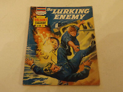 VALIANT PICTURE LIBRARY,NO 34,1964 ISSUE,V GOOD FOR AGE,53 yrs old,V RARE COMIC.