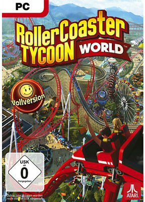 ROLLER COASTER TYCOON 3 Deluxe Edition PC ( inkl  Add On