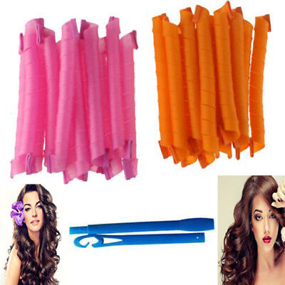 20-55cm DIY Magic Hair Curler Leverag Curlers Formers Spiral Styling Rollers