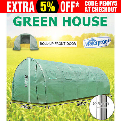 OZ Greenhouse Green House Waterproof Garden Plant Grow Sheds Arch Tunnel Walk In