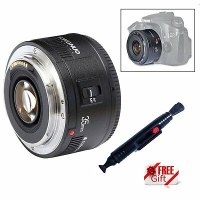 Yongnuo YN35mm EF 35mm F/2.0 AF MF Wide Angle Fixed Lens for Canon Camera EOS