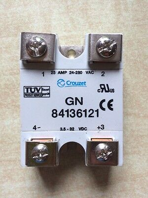 Crouzet 25amp solid state SSR relay GN84136121 - Arduino - Raspberry