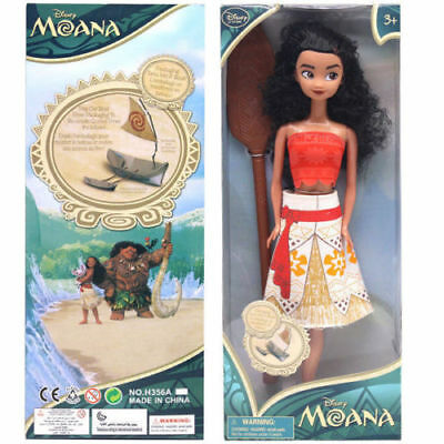 13'' Moana Princess Adventure Collection Action Figure Doll Toy Gift With Box UK