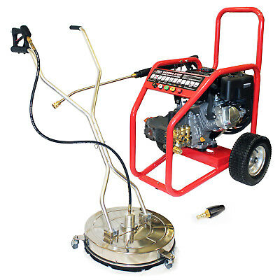 £13/WEEK on LEASE Warrior 3700P Petrol Jet Washer Pressure Cleaner Driveway Pack