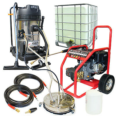 £19/WEEK on LEASE Business Pack Petrol Jet Washer Block Paving Driveway Cleaning