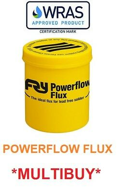 Fernox Powerflow Flux 350g endfeed flux paste soldering FAST & FREE DELIVERY