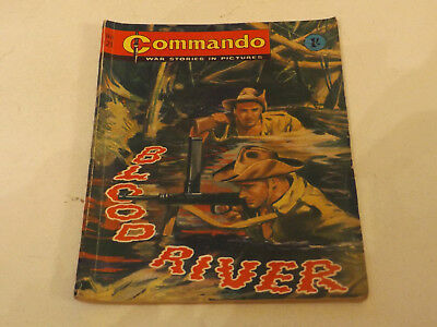 Commando War Comic Number 21!!,1962 Issue,v Good For Age,55 Years Old,v Rare.