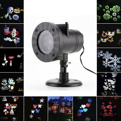 Halloween Christmas LED Lights Projector Outdoor Indoor Waterproof Decoration