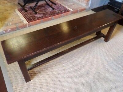Oak bench (Dining, Kitchen, Hall, Country)