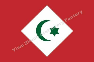 Republic Of The Rif Flag 150X90cm (3x5FT) 120g 100D Polyester Double Stitched