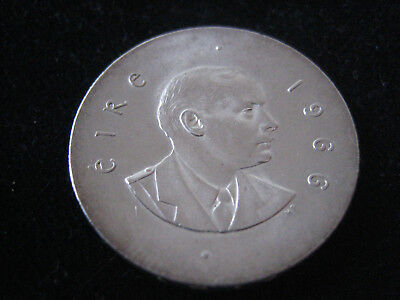 """Mds Irland 10 Scilling 1966 """"easter Rising Anniversary"""", Silber   #33"""