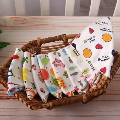 Baby bibs High quality triangle double layers cotton baberos Cartoon Character A