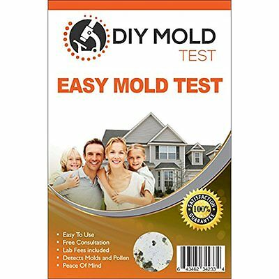Household Sensors & Alarms DIY Mold Test, Testing Kit (3 Tests). Lab Analysis