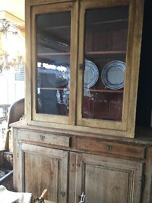 French Old Pine Larder Cupboard