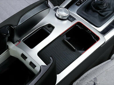Car Water Cup Holder Frame Cover Trim For Mercedes Benz C class W204 2009-2014