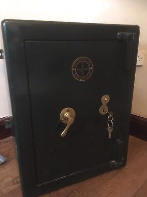 Fine Antique Vintage Safe (Frederick Hill B'ham Ltd)