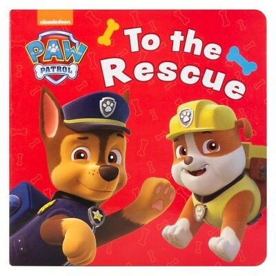 Children's Paw Patrol To the Rescue Board Book