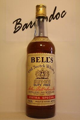 Whisky Bell's old Extra special Duty free , cl 0,75 , 43%
