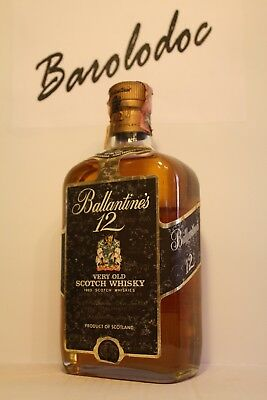 Whisky Ballantine's 12 years old , very old bottle , cl 0,75 , 43%