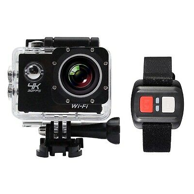 Pro Cam 4K Sport Wifi Action Camera Ultra Hd Con Telecomand Subacquea Gopro 16Mp