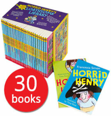 Horrid Henry's Loathsome Library Box Set - 30 Books