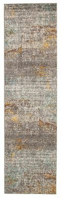 Hall Runner Rug Hallway Runner Modern Designer 3 Metres Long Carpet Multi Colour