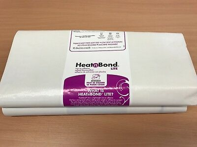Heat n Bond Lite For Applique, Bonding Fabrics, 1 METRE piece