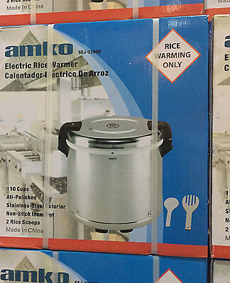 AMKO LARGE COMMERCIAL ELECTRIC RICE WARMER (100 Rice Bowls)