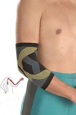 Solace Care Elbow Support Sleeve Brace Elastic Compression Gym Tennis Golfers UK