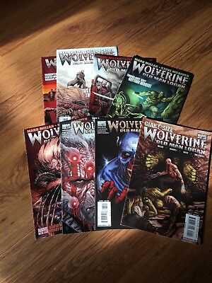 Wolverine Old Man Logan Complete Miniseries 8 Comics