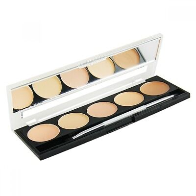W7 Camouflage Kit Cream Concealer With Mirror & Brush